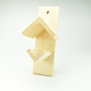 Vogelpindakaas houder