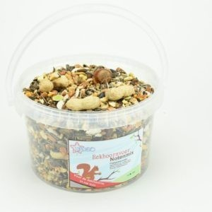 Eekhoornvoer, emmer 2,5 liter