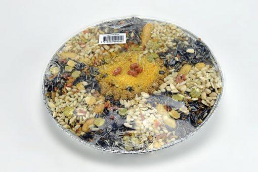 Vogelpizza, groot