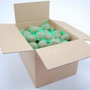 Mezenbollen, 100 stuks in doos, Happy Bird