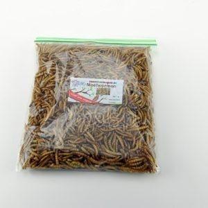 Meelwormen,gedroogd 75 gram