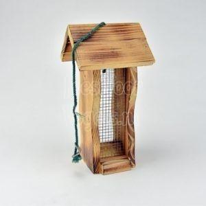 Voedersilo, 4-kant hout en gaas