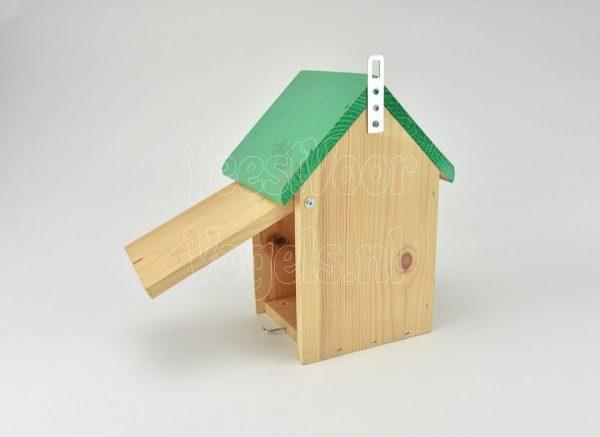 Nestkast Green-line met groen dak L