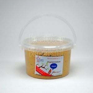 Navulverpakking vogelpindakaas, 2,5 liter