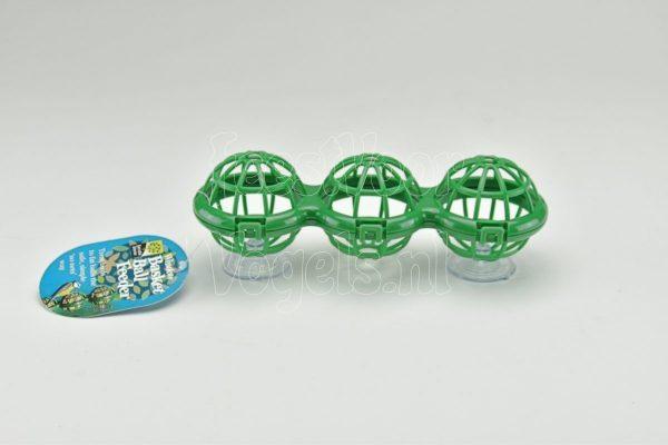 Raamfeeder voor 3 mezenbollen