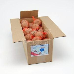 Mezenbol met vruchten, 50 stuks in doos, Happy Bird