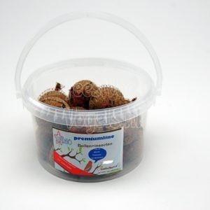 Mezenbol met insecten, 15 stuks in emmer