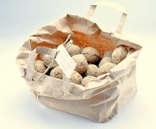 mezenbollen met kiemvrije zaden