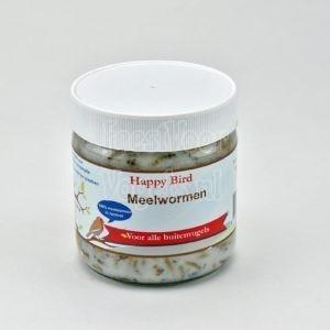 Meelwormen in vet