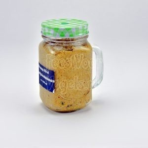 Vogelpindakaas in Mason-Jar,  400 ml.