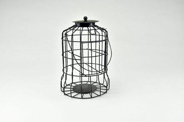 Pindakaas pothouder voor kleine vogels