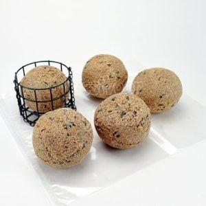 Reuze mezenbollen met houder
