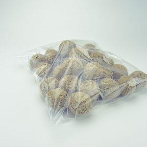 Mezenbollen zonder net in hersluitbare zak, 30 stuks
