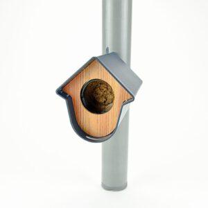 Vogelhuisje voor vogelpindakaaspot