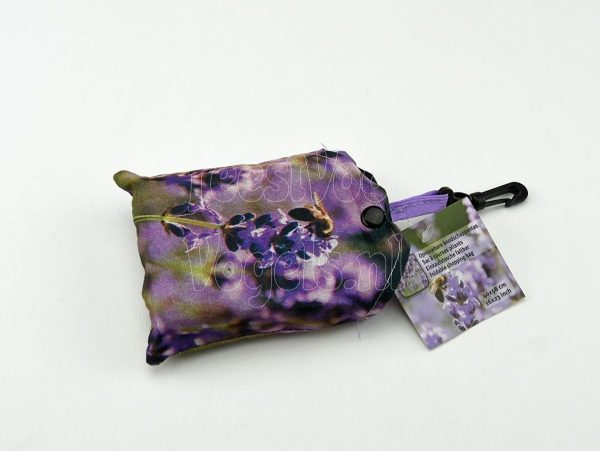 Opvouwbare boodschappentas met lavendel, Esschert
