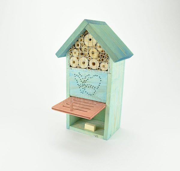 Insecten, vlinders en bijen hotel