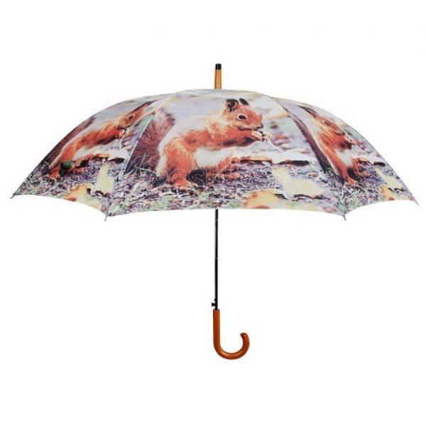 Paraplu met eekhoorn, Esschert