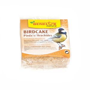 Birdcake met pinda