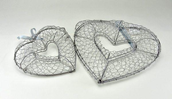 Doppinda houder, hartvormig S