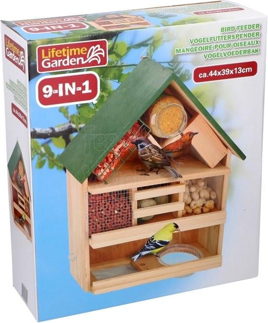Vogelvoederhuis 9in1