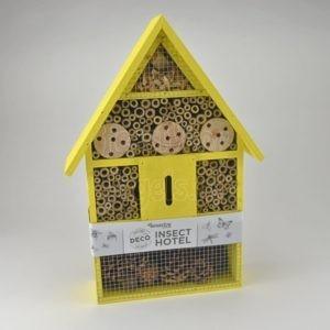 Insecten hotel, geel
