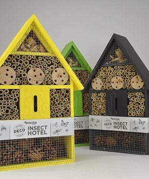 insecten hotel, 3 kleuren
