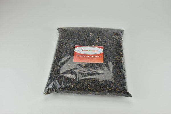 Zwarte zonnebloem pitten, 2 kg.