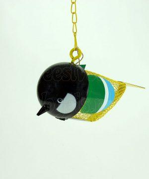 pindafeeder zwart www.feestvoorvogels.nl