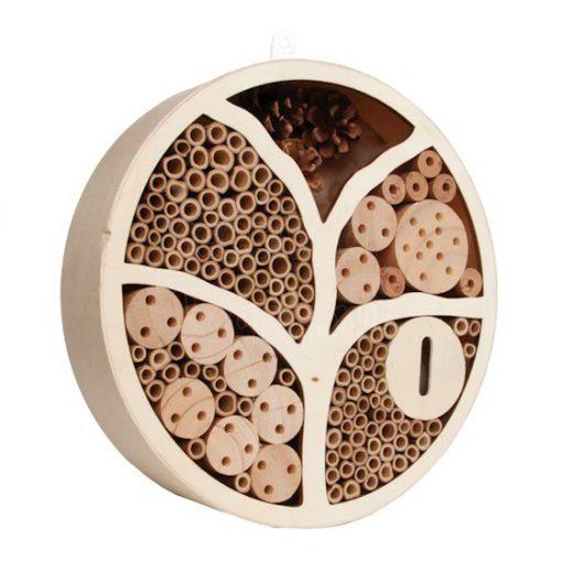 cirkelvormig insectenhotel
