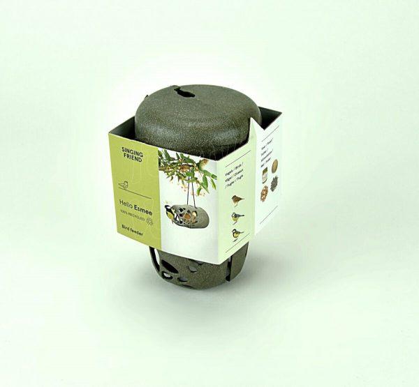 Vetrol in gerecycleerde houder