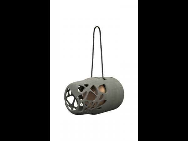 Pindakaas pothouder van gerecycled materiaal