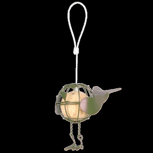 vogelvetbol houder groen