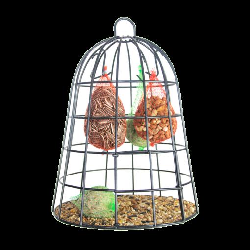 vogelvoerbeschermkooi inclusief voer