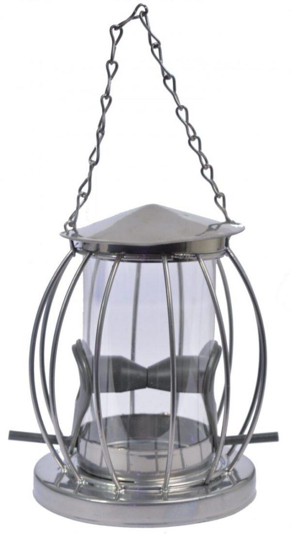 Zaad feeder in lantaarnvorm