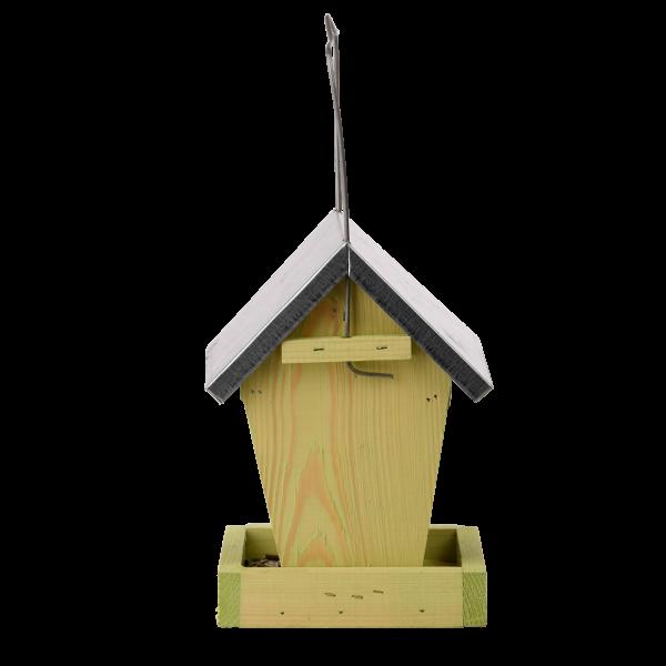 Combi voersysteem van hout.
