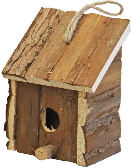 broedhuis vierkant met schuin dak