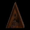 Driehoekig vlinderkast.