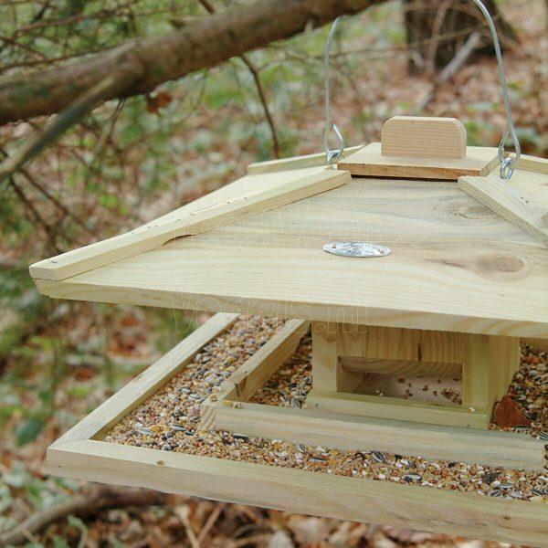 Japans vogelvoederhuis.