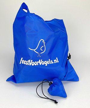 shopper opvouwbaar blauw