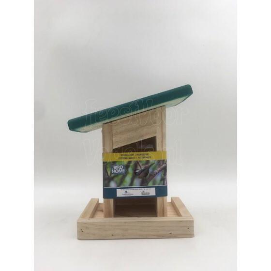 Vogelbescherming Zaadfeeder met schuin dakje