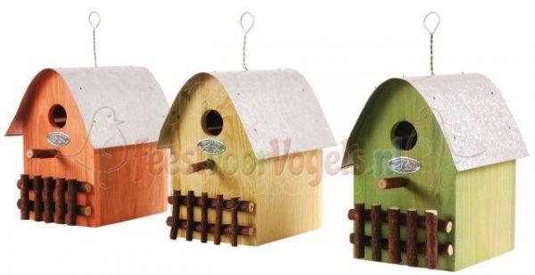 Decoratief nestkast voor vogels