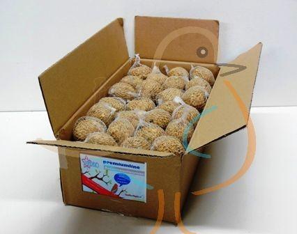 Mezenbol met meelwormen, 50 stuks in doos, Happy Bird